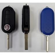 Складной черный корпус ключа для FIAT  DUCATO , CITROEN  JUMPER , PEUGEOT  BOXER