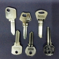 Ключи квартирные (английского типа, русская программа)