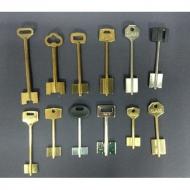 Ключи квартирные (сувальдного типа для замков рос.группы)