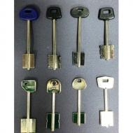 Ключи квартирные (Ключи сувальдного типа, импорт. программа)