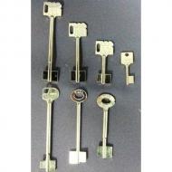 Ключи сейфовые